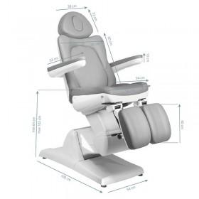Электрическое кресло для педикюра 870 S (3 мотора)