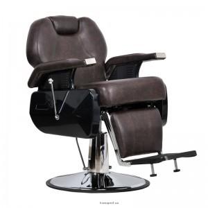 Барберское кресло ELITE коричневое