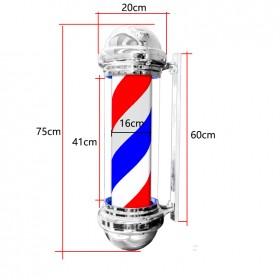 Светильник для барбершопа (барбер пул)  75 см